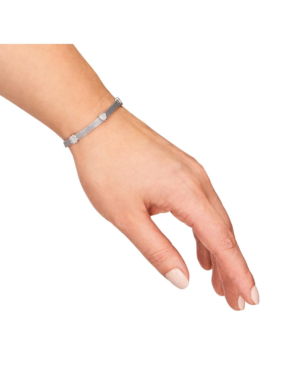 bransoletki srebrne